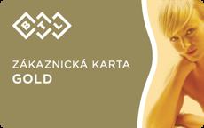Zákaznická karta Gold
